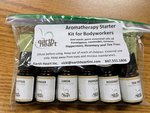 AROMATHERAPY 6-OIL PACK KIT FOR BODYWORKERS