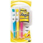 HGLTR & POST-IT FLAGS 3PK